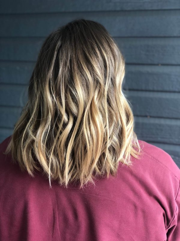 Honey Blonde Balayage 2