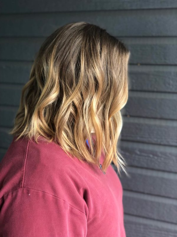 Honey Blonde Balayage 3
