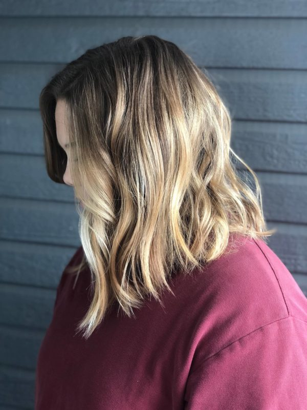 Honey Blonde Balayage 4
