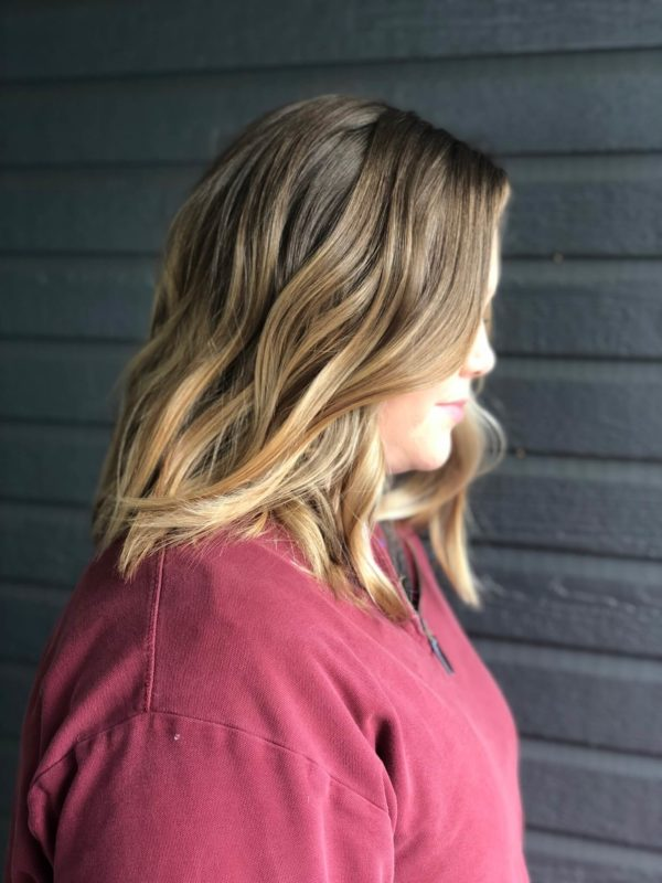 Honey Blonde Balayage